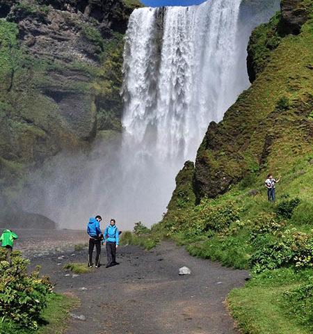 Cascadas islandesas, el corazón del turismo