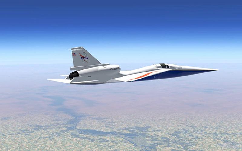Descubre los detalles del avión supersónico X-59 de la NASA