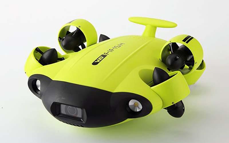 Drones submarinos para explorar las profundidades del mar