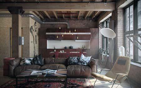 ¿Qué es la decoración industrial?