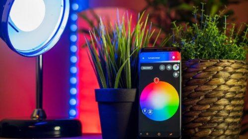 Cómo usar iluminación inteligente en el hogar
